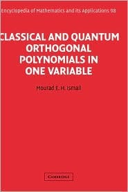 Classical and Quantum Orthogonal Polynomials in One Variable