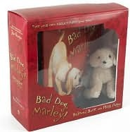 Bad Dog, Marley! Beloved Book and Plush Puppy