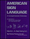 AMERICAN SIGN LANGUA by Martin L.A. Sternberg