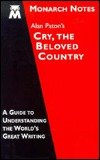 Alan Paton's Cry, the beloved country by Connor P Hartnett