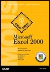 Microsoft Excel 2000: Mous Cheat Sheet