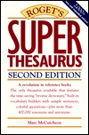 Roget's Super Thesaurus by Mark McClutcheon