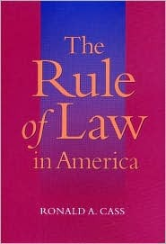The Rule Of Law In America