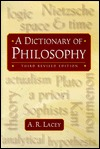 A dictionary of philosophy by A.R. Lacey