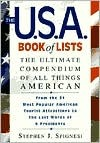 The U.S.A. Book of Lists by Stephen J. Spignesi