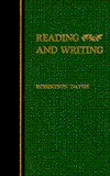 Reading and Writing by Robertson Davies