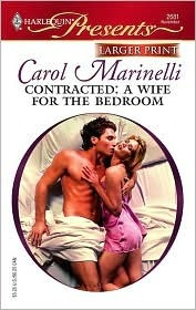 Contracted by Carol Marinelli