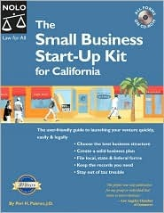 The Small Business Start Up Kit For California by Peri Pakroo