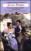 To Marry An Heiress Matchmakers 1