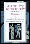 A Century of Greek Poetry: 1900-2000