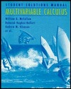 Multivariable Calculus, Student Solutions Manual by David Mumford
