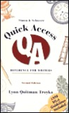 Simon &amp; Schuster Quick Access Reference for Writers (1998 MLA Update Edition)