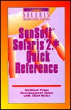 The Sun Solaris 2.* Quick Reference