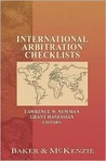 International Arbitration Checklists