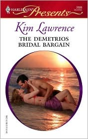 The Demetrios Bridal Bargain by Kim Lawrence