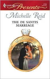 The De Santis Marriage by Michelle Reid