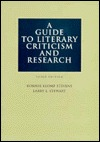 A Guide To Literary Criticism And Research by Bonnie Klomp Stevens