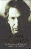 Alan Rickman by Maureen Paton