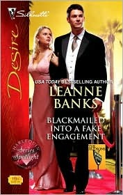 Blackmailed Into a Fake Engagement (The Hudsons of Beverly Hi... by Leanne Banks