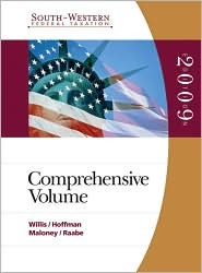 South-Western Federal Taxation: Comprehensive 2009 (with TaxCut® Tax Preparation Software CD-ROM) (South-Western Federal Taxation)
