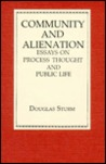 Community and Alienation: Essays on Process Thought and Public Life
