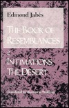 The Book Of Resemblances by Edmond Jabès