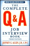 The Complete Q & A Job Interview Book
