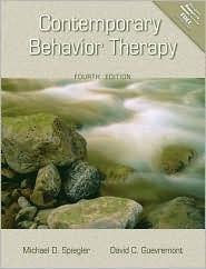 Contemporary Behavior Therapy by Michael D. Spiegler