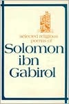 Selected Religious Poems by Solomon Ibn Gabriol