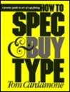 How to Spec & Buy Type