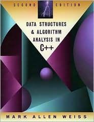 Data Structures and Algorithm Analysis in C++ by Mark Allen Weiss