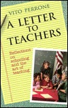 A Letter to Teachers by Vito Perrone