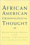 African Amer. Criminological Thought