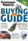 Consumer Reports Buying Guide 2003 (Consumer Reports Buying Guide)