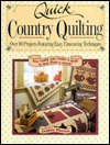 Download free Quick Country Quilting: Over 80 Projects Featuring Easy, Timesaving Techniques PDF by Debbie Mumm