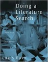Doing a Literature Search: A Comprehensive Guide for the Social Sciences