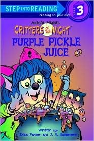 Purple Pickle Juice by Erica Farber