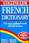 Collins Gem French Dictionary by Collins Publishers
