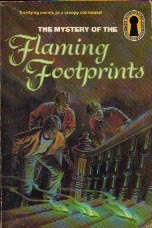 The Mystery of the Flaming Footprints by M.V. Carey