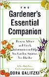 The Gardener's Essential Companion by Dora Galitzki