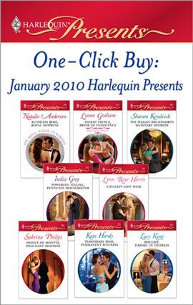 One-Click Buy: January 2010 Harlequin Presents