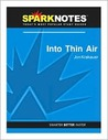 Into Thin Air (SparkNotes Literature Guide)