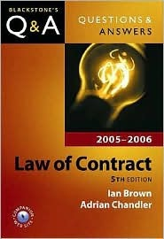 Questions & Answers Law of Contract 2005-2006