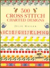 500 Cross Stitch Charted Designs