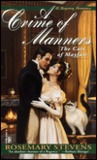 A Crime of Manners (Cats of Mayfair, #1)