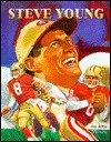 Steve Young (NFL) by Hal Block