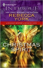 Christmas Spirit (A Holiday Mystery at Jenkins Cove) by Rebecca York