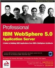 Professional IBM Websphere 5.0 Application Server [With CDROM] by Tim Francis