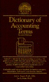 Dictionary of Accounting Terms by Joel G. Siegel