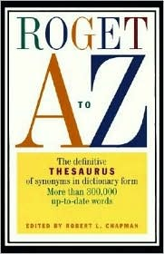 Roget A to Z by Robert L. Chapman
